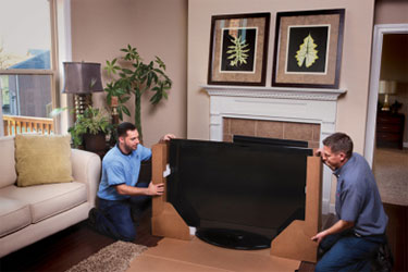 Packing Flat Screen TV